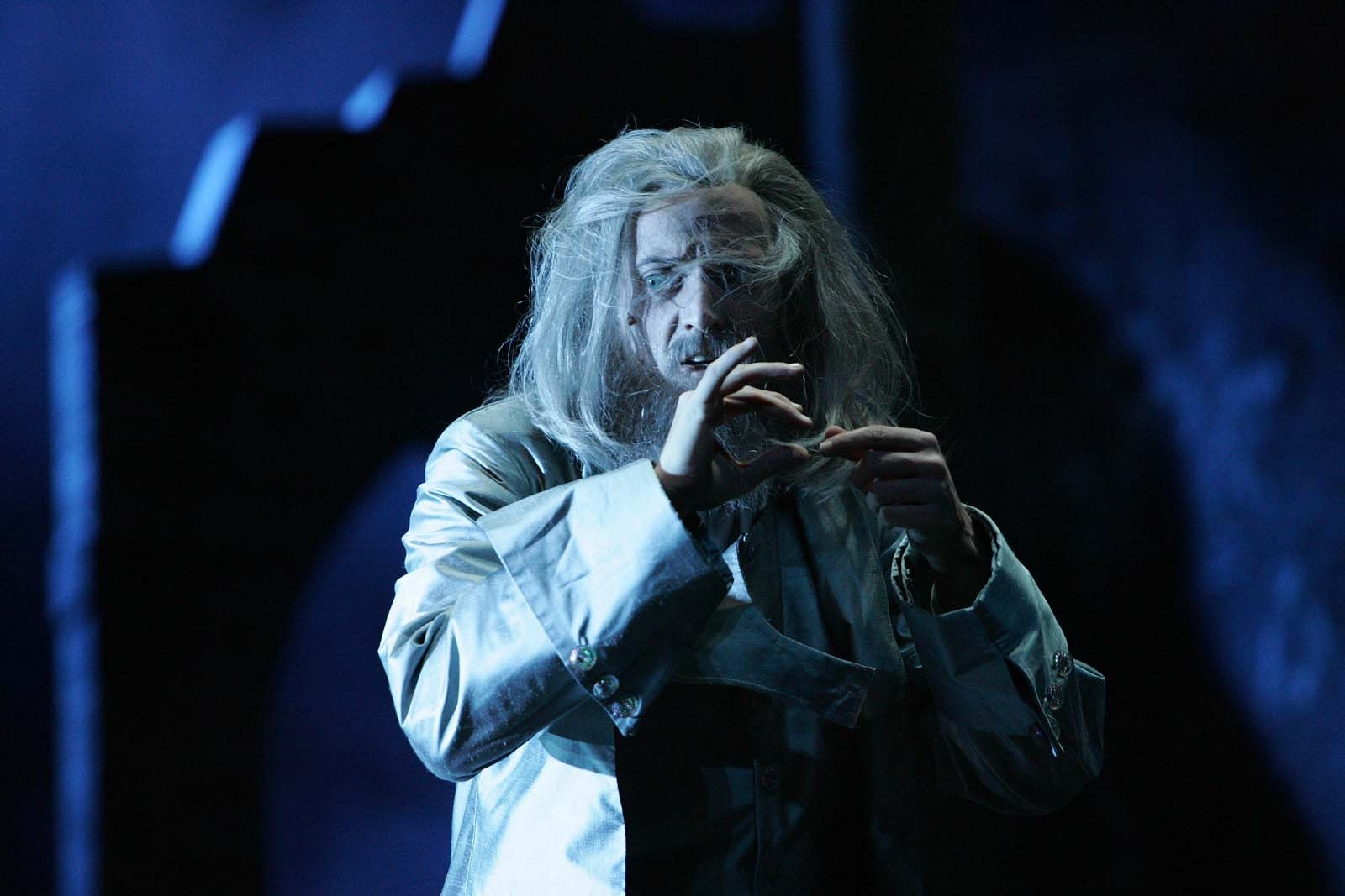 David as father in the German production of Beauty and the Beast.